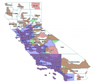 California NAIP 2014, Counties Acquired Locally 11dec16